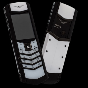 Vertu Signature S Design Pure Black White Ceramic