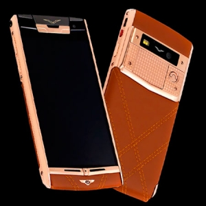 Vertu Signature Touch Gold for Bentley Chocolate