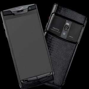 Vertu Signature Touch  Pure Iguana NEW