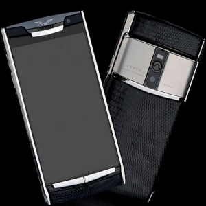 Vertu Signature Touch  Jet Iguana NEW