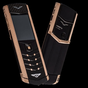 Vertu Signature S Design Pure Black Gold Bentley