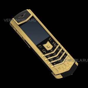 Vertu Signature S Design Спаси и Сохрани Gold