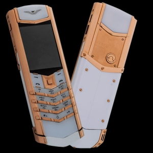 Vertu Signature S Design Gold White Ceramic