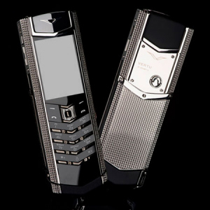 Vertu Signature S Design Clous De Paris Stainless Steel