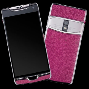 Vertu Constellation X Stainles Pink Leather Exclusive