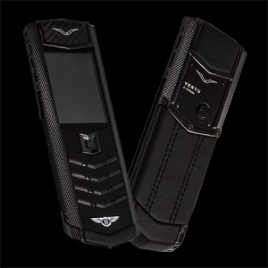 Vertu Signature S Design Pure Black Bentley