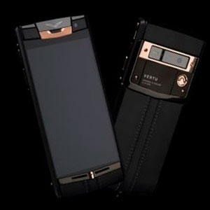 Vertu Signature Touch Pure Black Gold