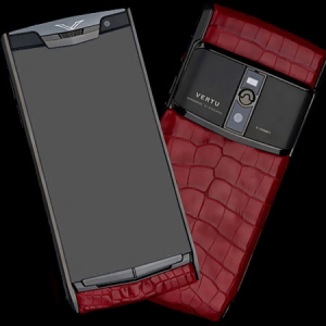 Vertu Signature Touch Pure Crocodile Red NEW