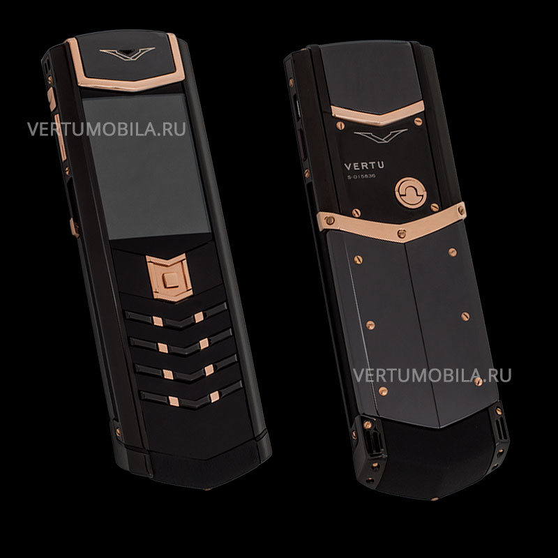 Vertu Signature S Design DLC Ceramic Pure Gold