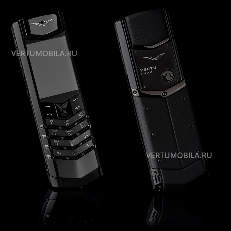 Vertu Signature S Design Pure Black PVD
