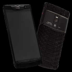 Vertu Signature Touch  Pure Black Python NEW
