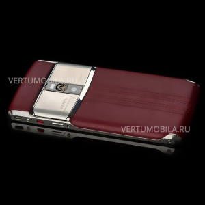 Vertu Signature Touch Jet Red Calf NEW