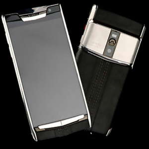 Vertu Signature Touch  Jet Calf  NEW