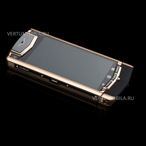 VERTU TI ANDROID GOLD BLACK LEATHER верту ти ай