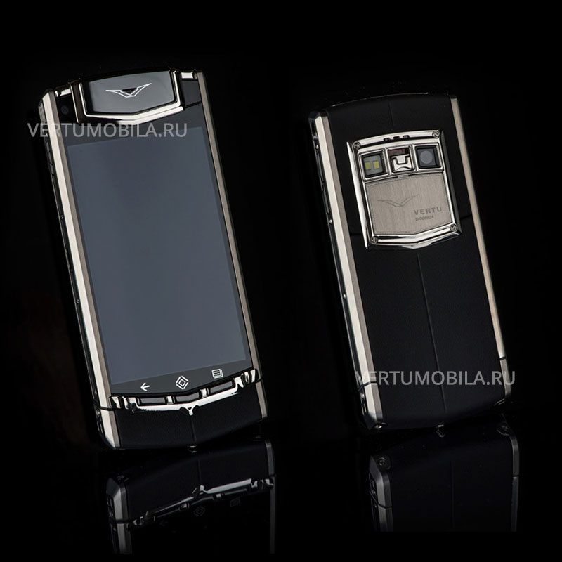 VERTU TI ANDROID BLACK LEATHER ,верту ти ай