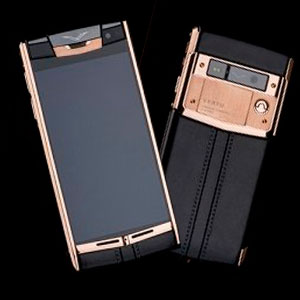 Vertu Signature Touch Gold Black