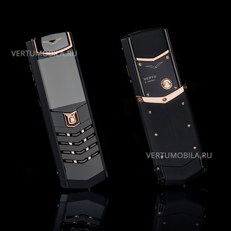 Vertu Signature S Design Pure Gold DLC