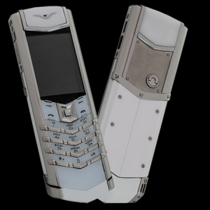 Vertu Signature S Design Stainless Steel White Ceramic