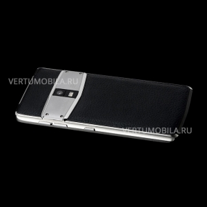 Vertu Constellation X Black Leather