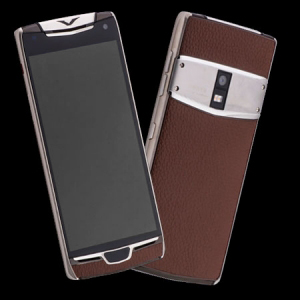 Vertu Constellation X Brown Leather