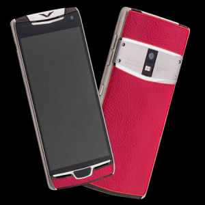 Vertu Constellation X Pink Leather