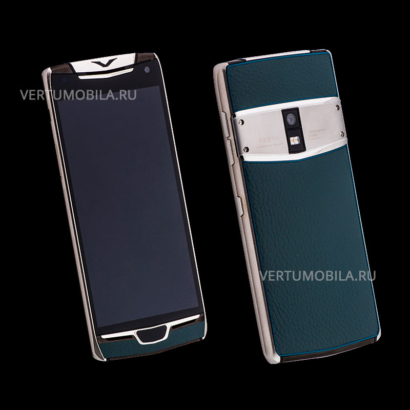 Vertu Constellation X Blue Leather