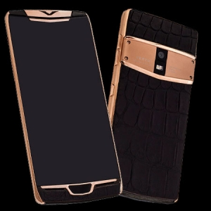 Vertu Constellation X Gold Black Crocodile Leather